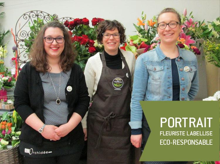 @Fleuriste labellisée éco-responsable par Clayrton's