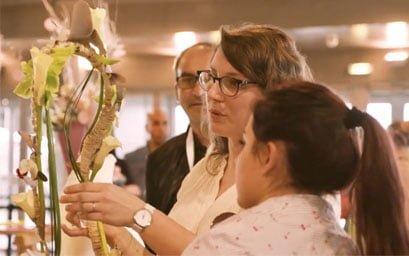 clayrton's academy finale concours emballage fleurs apprenti fleuriste florevent